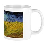 Van Gogh Crows Wheatfields Small Mugs