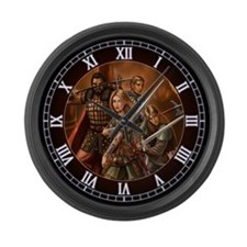 Return of the Warriors Large Wall Clock