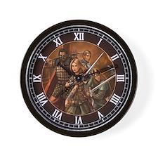 Return of the Warriors Wall Clock