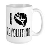 I Fist Revolution Coffee Mug
