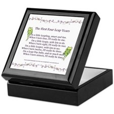 First Four Leap Years Keepsake Box