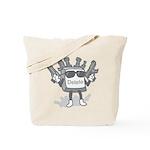 Delete Button Tote Bag