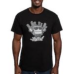 Delete Button Men's Fitted T-Shirt (dark)