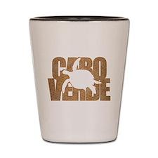 Cape Verde Turtle Sand Shot Glass