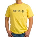 Ama-gi Yellow T-Shirt