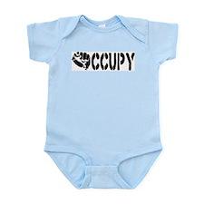 Occupy Wall Street Fist Infant Bodysuit