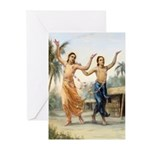 Dancing Gaura-Nitai Greeting Cards (Pk of 10)