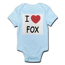 I heart fox Infant Bodysuit