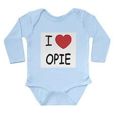 I heart opie Long Sleeve Infant Bodysuit