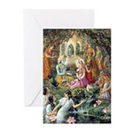 Radha & Krishna Speaking Greeting Cards (Pk of