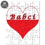 Babci Polish Heart Puzzle