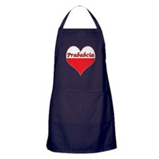 Prababcia Polish Heart Apron (dark)