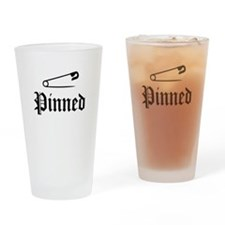 Unique Wrestling pin Drinking Glass