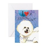 Bichon Frise Greeting Cards (Pk of 10)