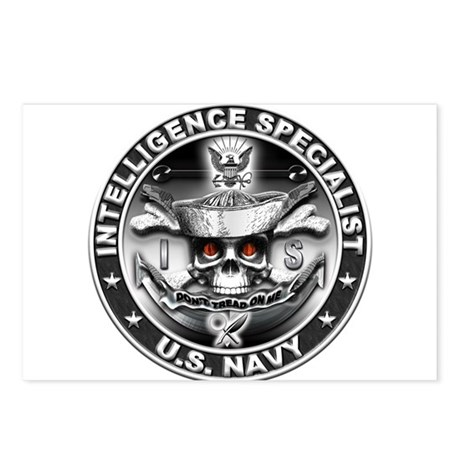 USN Intelligence Specialist S Postcards (Package o