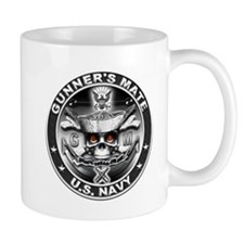USN Gunners Mate GM Skull Don Mug