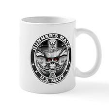 USN Gunners Mate GM Skull Don Small Mug