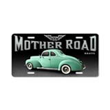 Mother Road - Mint Aluminum License Plate