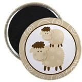 "Baa Baa Sheep 2.25"" Magnet (100 pack)"
