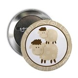 "Baa Baa Sheep 2.25"" Button"
