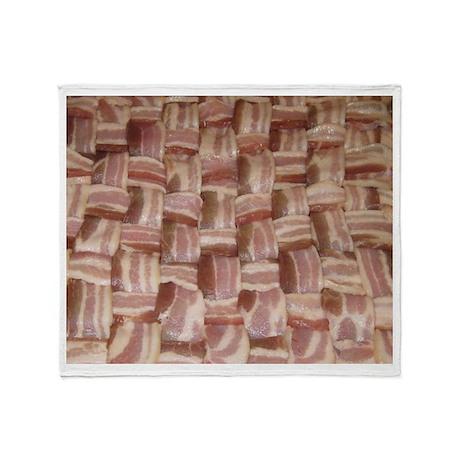 Bacon Weave Throw Blanket