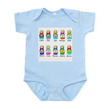 Nesting Dolls Infant Bodysuit