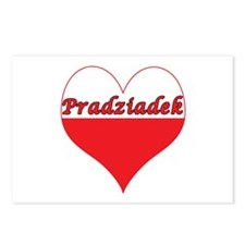 Pradziadek Polish Heart Postcards (Package of 8)