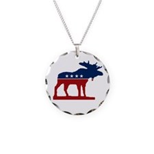 Bull Moose Necklace