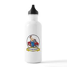 WORLDS GREATEST AUTO MECHANIC Water Bottle