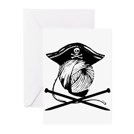 Yarrrrn Pirate! Greeting Cards (Pk of 10)