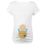 January Baby Boy Maternity T-Shirt