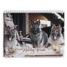 Howling Winds 2012 Wall Calendar