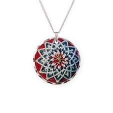 Temari Charm Necklace, Kiku Design