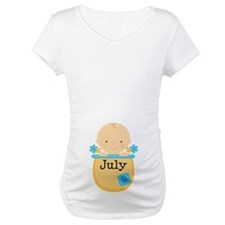 July Baby Boy Shirt