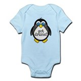 Drums Music Penguin Infant Bodysuit