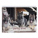 Howling Winds 2013 Wall Calendar