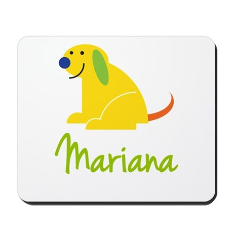 Mariana Loves Puppies Mousepad