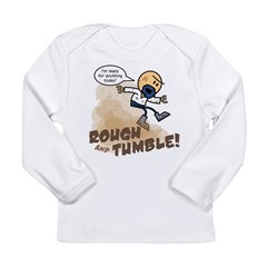 O-Chul: Rough and Tumble Long Sleeve Infant T-Shir
