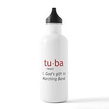 Tuba Definition Sports Water Bottle
