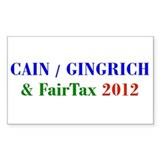 Funny Fairtax Decal