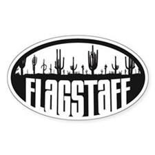 Flagstaff AZ Flag Decal