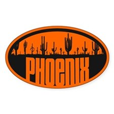 Phoenix AZ Flag Decal