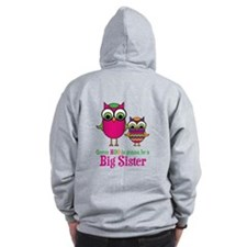 Guess Hoo Sis2Be (back) Zip Hoodie