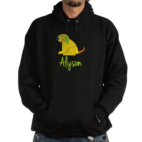 Alyson Loves Puppies Hoodie (dark)
