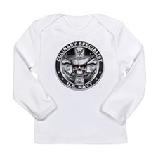 USN Culinary Specialist CS Sk Long Sleeve Infant T