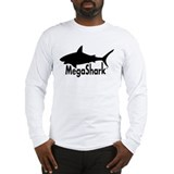 MegaShark logo Long Sleeve T-Shirt