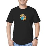 I Believe in Banjo Men's Fitted T-Shirt (dark)
