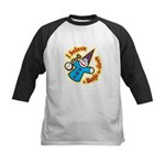 I Believe in Banjo Kids Baseball Jersey