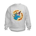 I Believe in Banjo Kids Sweatshirt