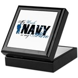 Uncle Hero3 - Navy Keepsake Box